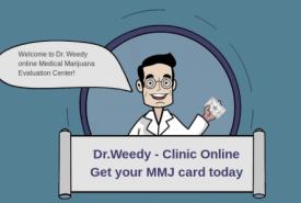 Dr. Weedy   Get Medical Marijuana Card Online